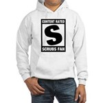 Content Rated S: Scrubs Fan Hooded Sweatshirt