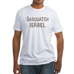 Sasquatch Israel!! Fitted T-Shirt