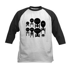 USS Enterprise History Kids Baseball Jersey