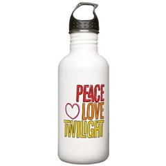 Peace, Love, Twilight Shirts Stainless Water Bottle 1.0L
