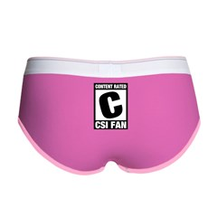 Content Rated C: CSI Fan Women's Boy Brief