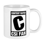 Content Rated C: CSI Fan Mug