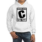 Content Rated C: CSI Fan Hooded Sweatshirt