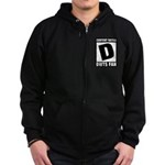 Content Rated D: Dancing With The Stars DWTS Fan Zip Hoodie (dark)