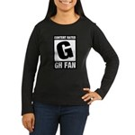 Content Rated G: General Hospital Fan Women's Long Sleeve Dark T-Shirt