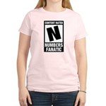 Content Rated N: Numb3rs Fan Women's Light T-Shirt