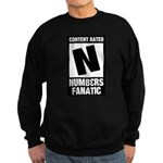 Content Rated N: Numb3rs Fan Sweatshirt (dark)