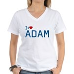 I Heart Adam Women's V-Neck T-Shirt