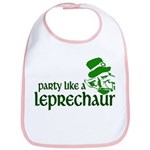 Party Like a Leprechaun Bib