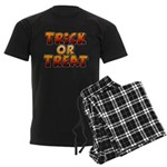 Trick or Treat Men's Dark Pajamas