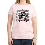 Sexually deprived for your freedom Women's Light T