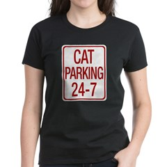 Cat Parking Women's Dark T-Shirt