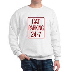 Cat Parking Sweatshirt