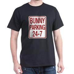 Bunny Parking Dark T-Shirt