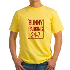 Bunny Parking Yellow T-Shirt