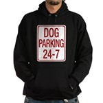 Dog Parking Hoodie (dark)
