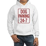Dog Parking Hooded Sweatshirt