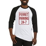 Ferret Parking Baseball Jersey