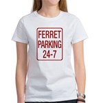 Ferret Parking Women's T-Shirt