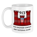 913th Engineer Company Mug