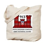 913th Engineer Company Tote Bag