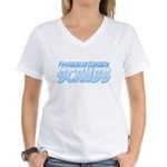 I'd Rather Be Watching Scrubs Women's V-Neck T-Shirt