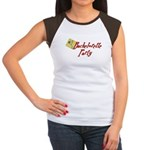 Martini Bachelorette Party Tee Women's Cap Sleeve