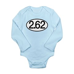 2.62 Long Sleeve Infant Bodysuit