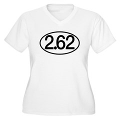 2.62 Women's Plus Size V-Neck T-Shirt