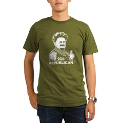 Trotsky Vote Republican Organic Men's T-Shirt (dar