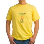 Summer Camp Slut Yellow T-Shirt