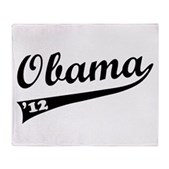 Obama 2012 Swish Stadium Blanket