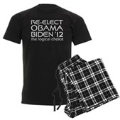 Logical Obama 2012 Men's Dark Pajamas