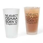 Logical Obama 2012 Pint Glass