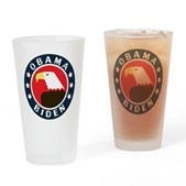 Obama-Biden Eagle Pint Glass