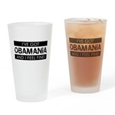 I've Got Obamania! Pint Glass