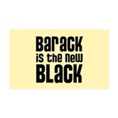 Barack the New Black 38.5 x 24.5 Wall Peel