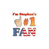 I'm Stephen's #1 Fan 38.5 x 24.5 Wall Peel