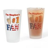I'm Stephen's #1 Fan Pint Glass