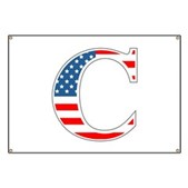 C stands for Colbert Banner