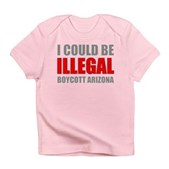 Could Be Illegal Anti-AZ Infant T-Shirt