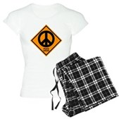 Peace Ahead Women's Light Pajamas