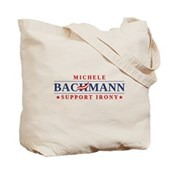 Anti-Bachmann Irony Tote Bag
