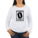 Content Rated Owler Women's Long Sleeve T-Shirt