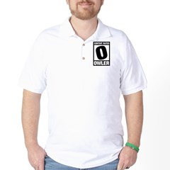 Content Rated Owler Golf Shirt