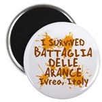 Ivrea Battle Of The Oranges Souvenirs Gifts Tees Magnet