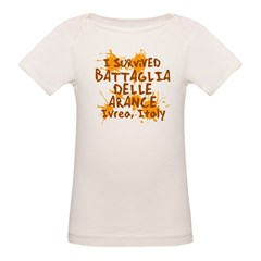 Ivrea Battle Of The Oranges Souvenirs Gifts Tees Organic Baby T-Shirt