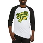 Captain Obvious Baseball Jersey