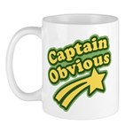 Captain Obvious Mug