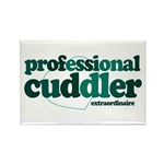 Professional Cuddler Rectangle Magnet